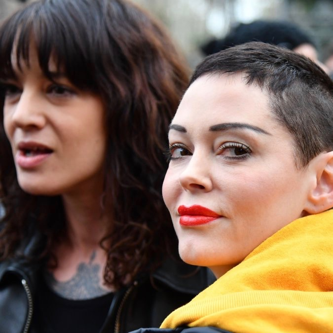 Rose McGowan's Double Standard Regarding Asia Argento and #MeToo [VIDEO]