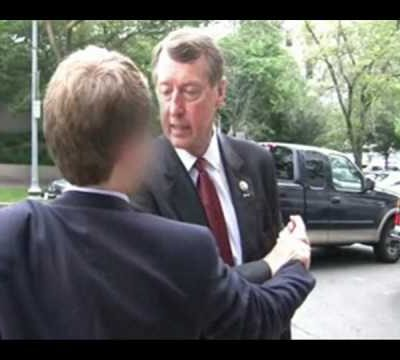 Idiot move of the year: Rep. Etheridge assaults student on public street