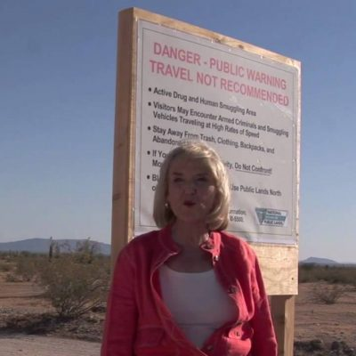 Jan Brewer takes on Obama's false promises to secure the border