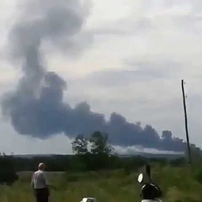 Malaysia Airlines Passenger Plane Reportedly Shot Down Over Ukraine (Video); UPDATE: Russian Officer Admits to Ordering the Strike; UPDATE: 23 Americans on Board?; UPDATE: Rescue Officials Being Kept Away From the Site