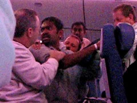 Meltdown on an Air Canada flight