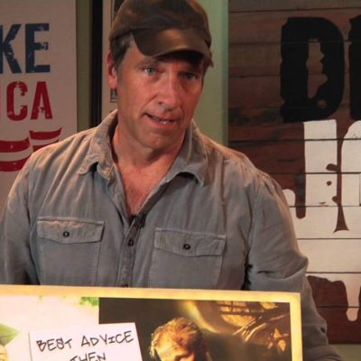 Mike Rowe:  It's A Dirty Job, But Someone's Got To Do It
