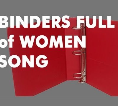 "Mitt Romney:  ""Binders Full of Women"" Comment (Video)"