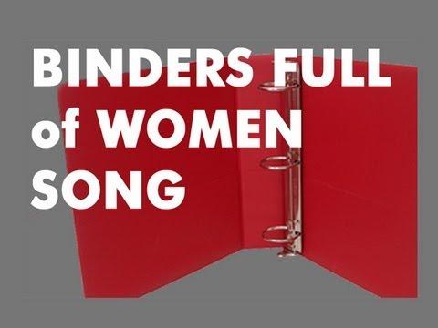 "Mitt Romney:  ""Binders Full of Women"" Comment (Video)"
