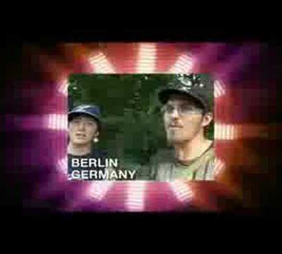 mocking obambi in berlin
