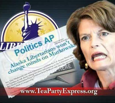 Murkowski to Alaskan Media: Don't Run Tea Party Ads
