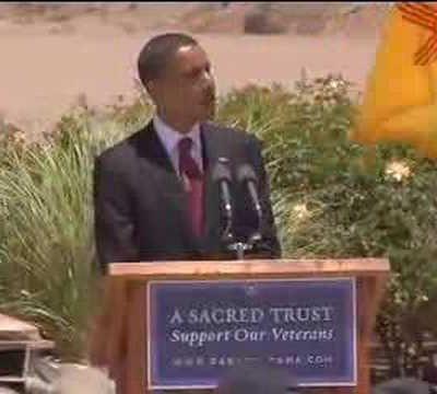 Obama sees DEAD PEOPLE…