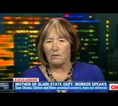 Obama's Benghazi-gate:  Sean Smith's Mom Just Wants Answers  (Video)