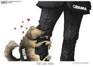 Media as Obama's lapdog