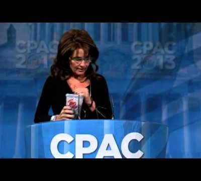 Sarah Palin Rocks CPAC 2013 and Weekend Links!