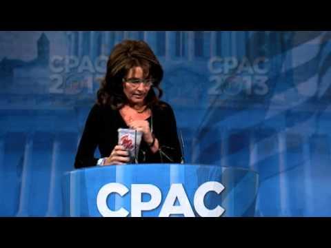 Sarah Palin Rocks CPAC 2013 and Weekend Links!
