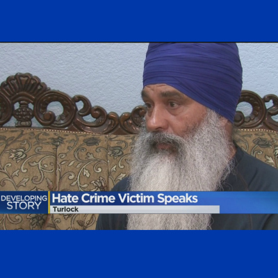 Man of Sikh Faith Attacked By Apparent White Supremacists