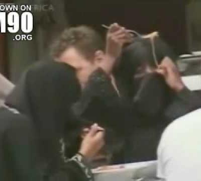 spaghetti and burqas