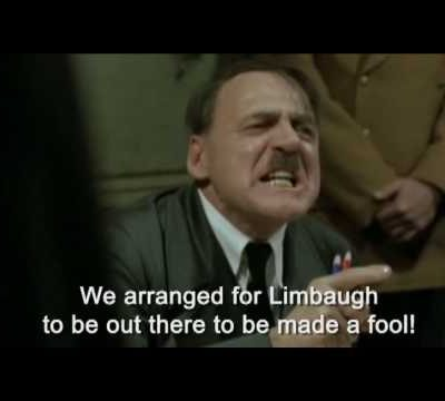 the rush limbaugh 'hitler finds out' video