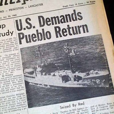 President Trump, Get The USS Pueblo Back [VIDEO]