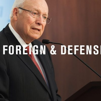 Vice President Dick Cheney at the American Enterprise Institute