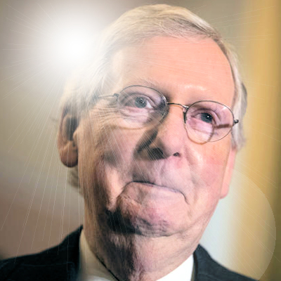 McConnell En Fuego on Senate Floor