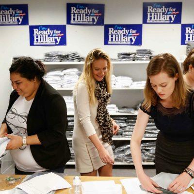 Unpaid Interns: Hillary Clinton Goes on The Cheap
