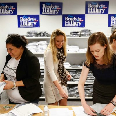 Unpaid Interns: Hillary Clinton Goes on The Cheap