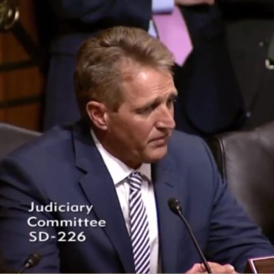 Flake Throws Wrench At Confirmation Hearing