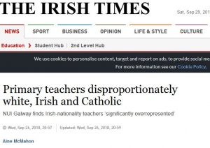 Irish Times Headline