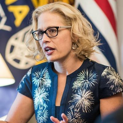 Kyrsten Sinema, Flaky Arizona Senate Candidate