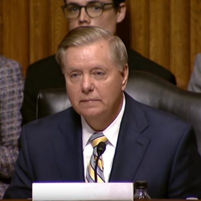 Lindsey Graham Finds His Spine