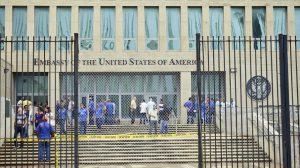 microwave strikes cuban embassy