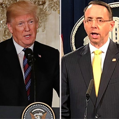 Rosenstein and Trump Bromance Meeting Today