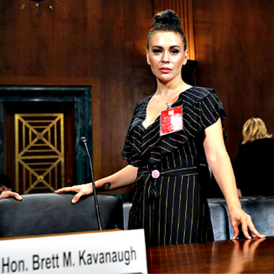 Alyssa Milano and #MeToo, But Not For Juanita Broaddrick