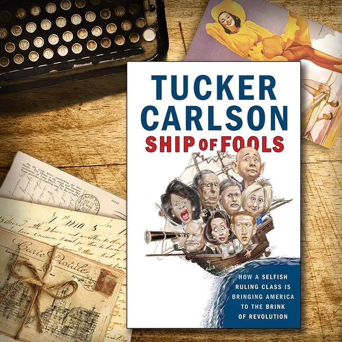"From The VG Bookshelf: Tucker Carlson's ""Ship Of Fools"""