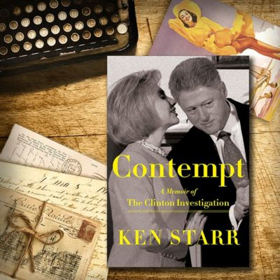 "From the VG Bookshelf: Ken Starr's ""Contempt,"" Part 1"
