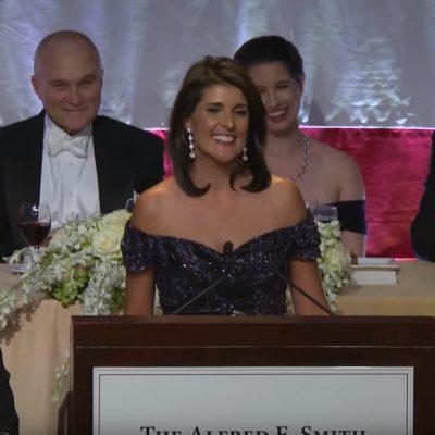 Nikki Haley Gives Keynote Roast [VIDEO]