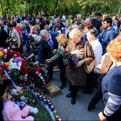 Columbine in Crimea