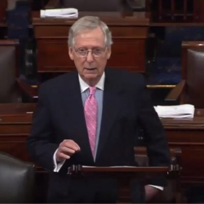 McConnell Calls Out Democrats, Announces Vote