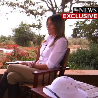 First Lady Melania Trump Speaks Up