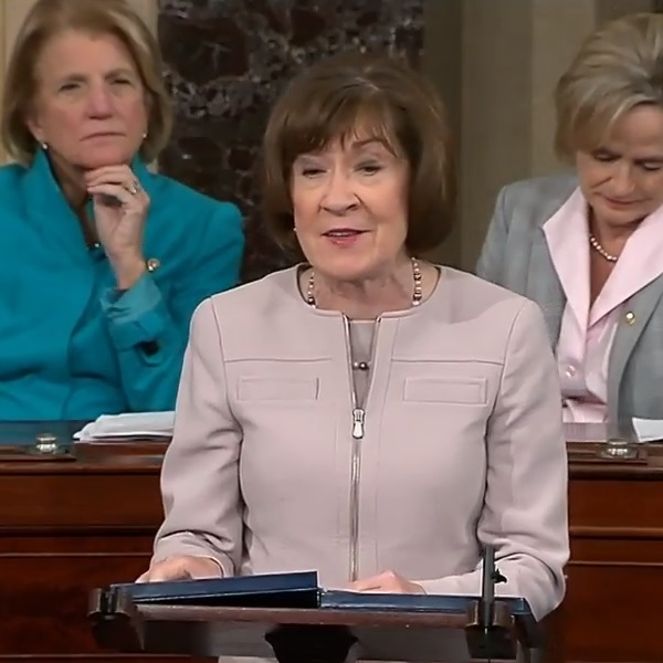 Susan Collins Assures Kavanaugh's Nomination [VIDEO]