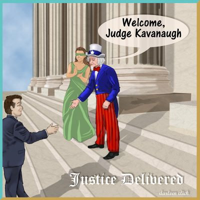 Brett Kavanaugh: Justice Delivered