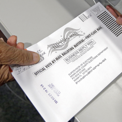 Florida's Bay County Election Supervisor Let Voters Vote Via EMAIL [VIDEO]