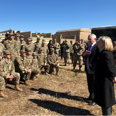 Defense Secretary James Mattis Visits Border, Is Awesome