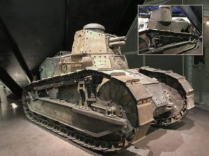 Armistice; Renault tank