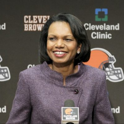 Condoleezza Rice As Cleveland Browns Head Coach?  Why Not?