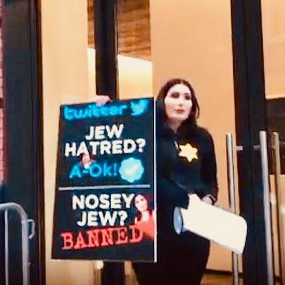 Citing Censorship And Bias, Laura Loomer Chains Herself To Twitter Office [VIDEO]