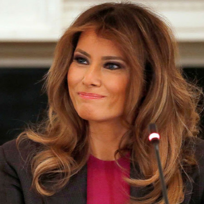 First Lady Melania Trump Calls For Needed Firing