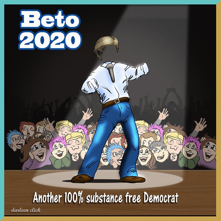 Señor Leprechaun Beto O'Rourke: Squeals for 2020