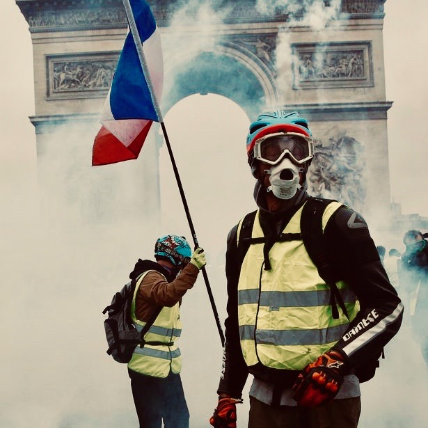 #ParisRiots: Macron's Fuel Tax And Climate Change Policies Are Destroying France