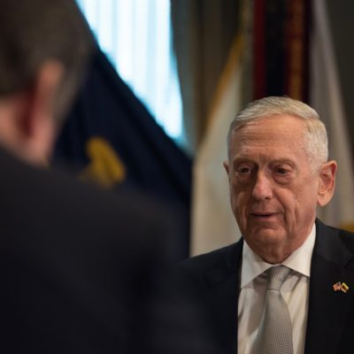 Mattis: People Thought He Could Temper Trump, They Thought Wrong