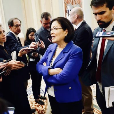 Senator Hirono Says Democrats Are So Much Smarter Than Rest Of Us
