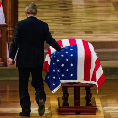 #Remembering41: George W. Bush Delivers Moving Tribute To His Father
