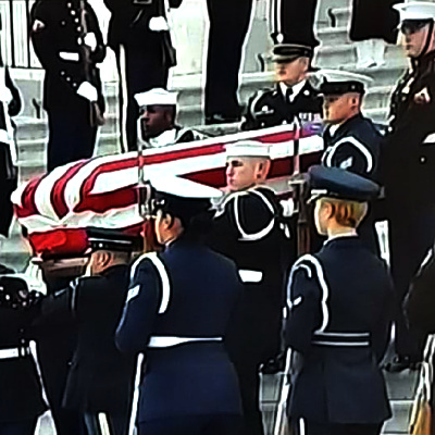"Bush Funeral Provides ""New Yorker"" Feel Good Moment"